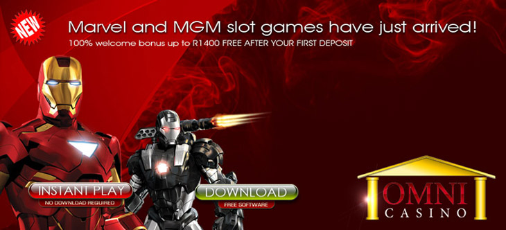 All your favourite slot games, all under 1 roof - Omni.