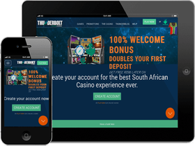 Play on Desktop or Mobile at Thunderbolt Casino